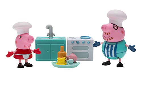 Peppa Pig Little Rooms Cooking Playset