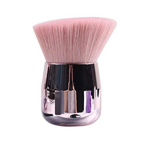 WYXHZS Brosses Douces et Fines Lisses Outil de beauté de beauté pinceaux de Maquillage Portable Champignon Rose (Color : A)