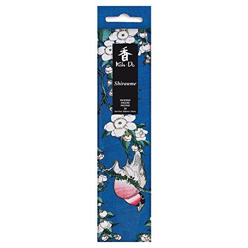 Tierra Zen - Set de 20 barritas de Incienso japonés Ciruelo Blanco