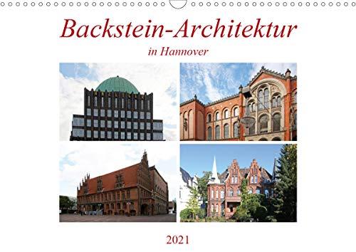 Backstein-Architektur in Hannover (Wandkalender 2021 DIN A3 quer)