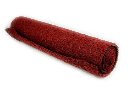 Kokosfaser Matte Winterschutz für Garten und Pflanzen – 150 x 50 cm - rot