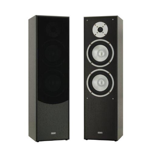 mohr 1 Paar Standlautsprecher SL10 schwarz, Lautsprecherboxen, HiFi Klang zum günstigen Preis Bild