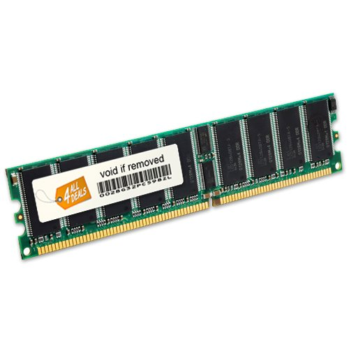 4AllDeals 4GB Kit [2x2GB] DDR-400 PC3200 ECC Registered 184 Pin 2.5V CL=3 Memory 128X4 Server Memory Maryland