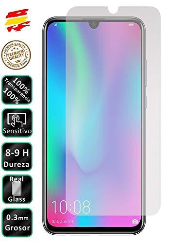 Movilrey Protector para Huawei Honor 10 Lite Cristal Templado de Pantalla Vidrio 9H para movil