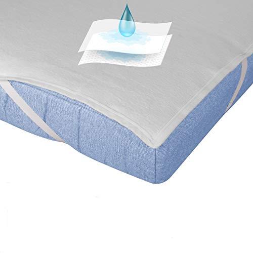 Sleepssential | wasserdichter Premium Matratzenschoner 120 x 200 | Matratzenauflage Made in Germany | Matratzenschutz atmungsaktiv | Matratzenschonbezug aus Molton | Gegen Inkontinenz geeignet