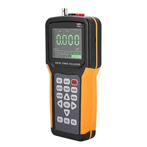 Osciloscopio Digital, 200MSa / S 100-240V Multímetro Para Electricista Para Con Brillo De Luz De Fondo(JDS2012A, Regulaciones de EE. UU.)