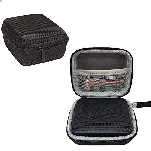 fiejns-zjy Tragetasche für kabellosen Bluetooth-Lautsprecher JBL GO2, wasserdicht, Schwarz Schwarz