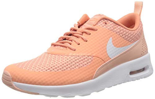 Nike Damen WMNS AIR MAX THEA Premium Traillaufschuhe, Orange (Crimson Bliss/Bianco/Coral Star 605), 40.5 EU