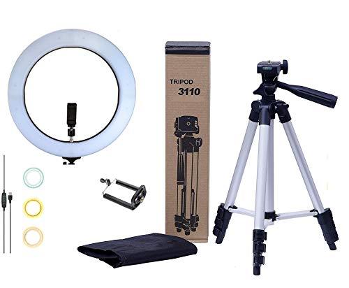Kit Youtuber Profissional Ring Light 10'' com tripé Telescópico (TriPod 3110)