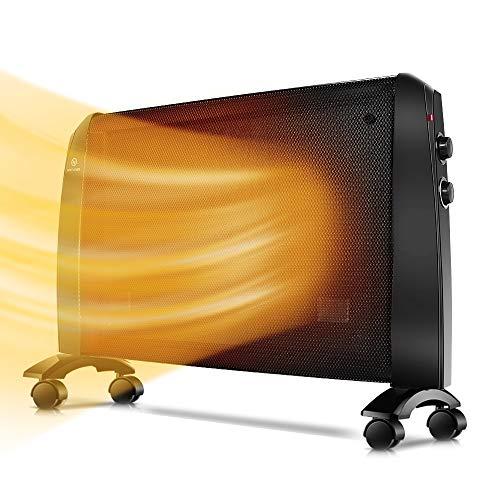 Air Choice Mica Panel Heater, HomeLine-314, Black 03