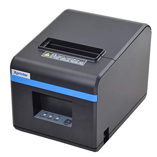 Thermodrucker Automatische Kalibrierung Barcode-Drucker USB-Anschluss Druckgeschwindigkeit 160 Mm/S, Breite 80 Mm, Geeignet Für Supermärkte/Restaurants.