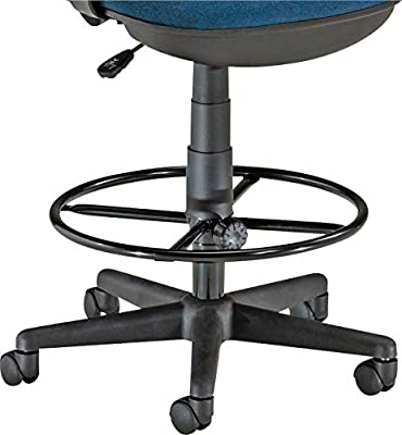 "OFM DK-2 Stool Drafting Kit, 19"" Diameter Foot Ring with 9"" and 12"" Extenders from OFM"