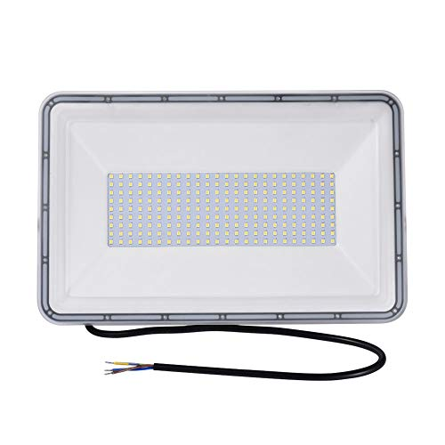 300W LED Flood Light, 30000LM Super Bright Floodlight , IP65 Waterproof Outdoor Work Lights, 6000K(Cold White) Spotlight, CE and ROHS Certified Outdoor Security Lighting for Garden, Playground 110V