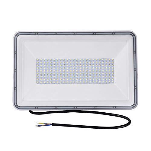 Viugreum Faretto LED da Esterno 200W, IP67 Resistente all'acqua Proiettori per Esterni, Luce Di Sicurezza 20000LM, 3000K Bianco Caldo, Consumo Basso Super Luminoso per Giardino, Magazzino