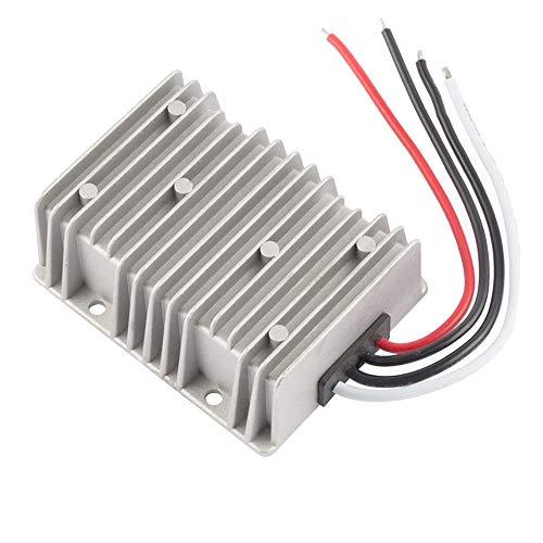 ZHITING Regulador del convertidor de Potencia de CC a Prueba de Agua, DC 24V a DC 12V 40A 480W Transformador Reductor para Carro de Golf Módulo de alimentación LED Tira de luz
