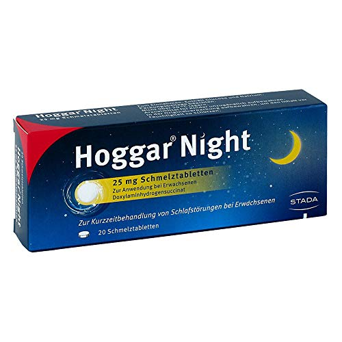 Hoggar Night 25 mg Schmelztabletten, 20 St. Tabletten