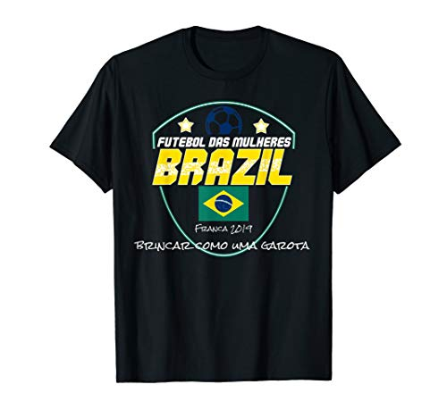 Brasilien FrauenFußball Trikot 2019 Brasilianisches Fußball T-Shirt