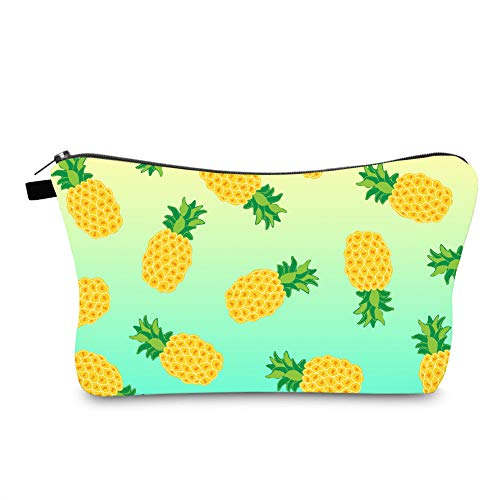 Jom Tokoy Hakuna Matata Makeup Bag Travel Case Cosmetic Bag (pineapple 1089)