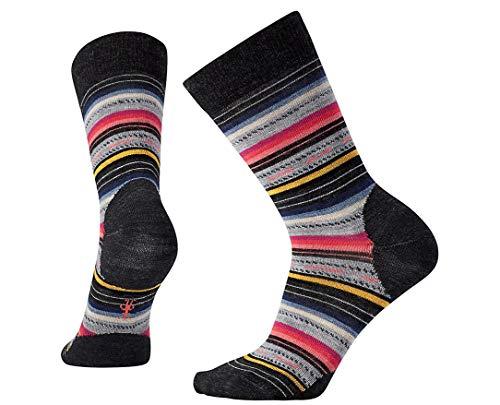 Smartwool Margarita Charcoal Stripe MD (Women's Shoe 7-9.5)