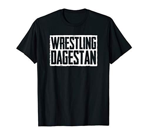Wrestling Dagestan T-Shirt für Ringerschuhe und Ringertrikot T-Shirt