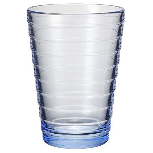 Iittala - Aino Aalto - Glas/spülmaschinengeeignet - Regenblau - 33cl - 1 Stück
