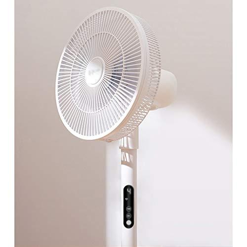 Tingting1992 Ventilador Ventilador eléctrico de Escritorio casera Ventilador de pie en Silencio Vertical, temporización Inteligente habitación Dormitorio con Control Remoto Ventilador eléctrico