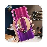 Coque pour Huawei Honor 10,Coque Nom Personnalisé Lettre Monogramme pour Huawei Honor 10 20 Lite...