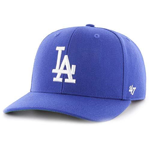 47Brand Los Angeles Dodgers - LA Blau - Snapback Cap Kappe - MLB Baseball - MVP One Size Fits All
