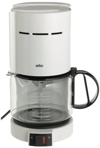 Braun KF400-WH Aromaster 10-Cup Coffeemaker, White