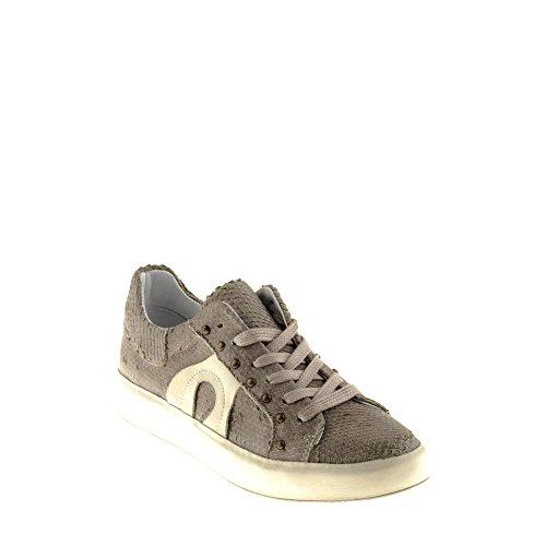 Felmini - Damen Schuhe - Verlieben Trump B019 - Sneakers - Echtes Leder - Mehrfarbig - 39 EU Size