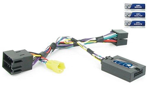 NIQ Adaptador CAN-BUS para mando a distancia en el volante adecuado para radios de coche Sony, compatible con Renault Clio | Kangoo | Laguna | Master | Megane | Modus | Scenic | Trafic | Twingo
