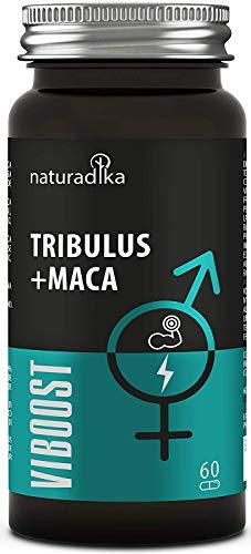 viboost TRIBULUS + MACA - Booster homme - Augmente la vitalité et l'énergie - Accroît la force et la résistance avec Maca, Tribulus Terrestris, Rhodiola et Zinc