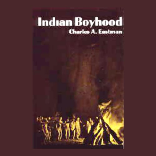 Indian Boyhood audiobook cover art