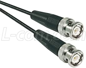 L-com CC1 Series RG174/U BNC Plug Coaxial Cable Assemblie (15 feet)