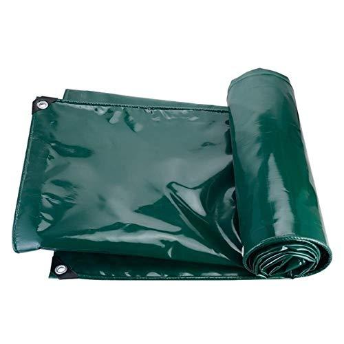 LHQ-HQ 650 g/m² de Altas Prestaciones de Poly Tarp, Impermeable Lona UV y Resistente Carpa Hoja de Tierra Cubierta de protección Camping (Tamaño: 4x6m)