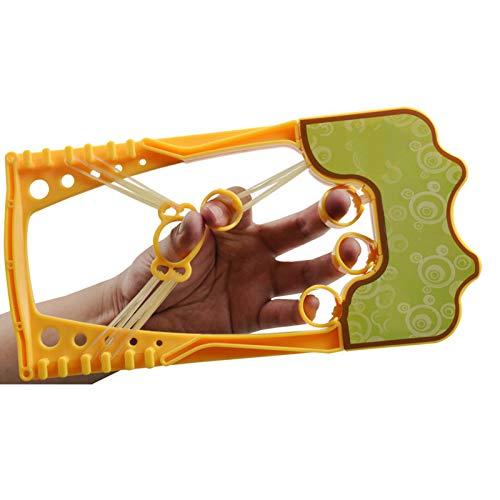 Extensor de dedos, fortalecedor de agarre, fortalecedor de fuerza, juego de pinzas, reduce el dolor de la artritis, túnel carpiano, auténtico, original, efectivo para ejercicios de guitarra y escala