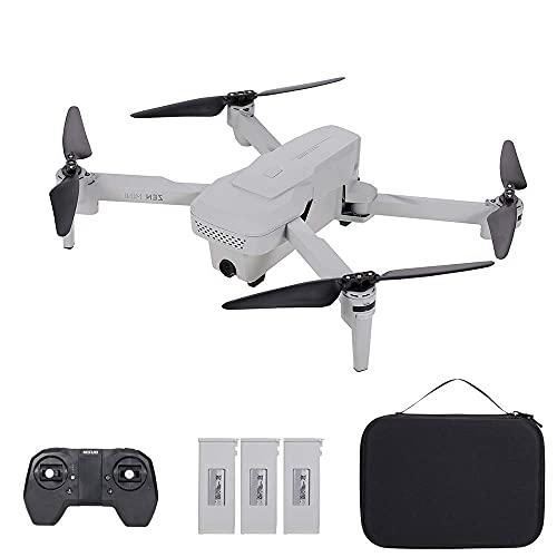 DCLINA Drone con Fotocamera, Xs818 Drone con Fotocamera Drone 4K 5G WiFi Flusso Ottico Posizionamento GPS Traccia Altitudine Volo Mantieni Seguimi Gesto Foto Video Custodia per quadricottero RC