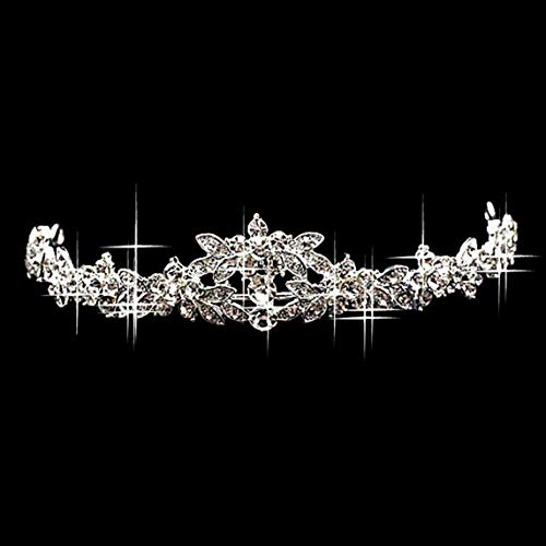 Elegant Luxurious Wedding Bride Crown Headwear Rhinestone Tiaras Hairpin Wedding Hair Accessories Bride Jewelry