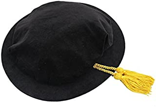 GraduationService Unisex Deluxe Doctoral Academic Beefeater With Gold Cord