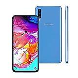 Smartphone Samsung Galaxy A70, 128Gb, Tela 6.7'', Azul Sm-A705Mzbrzto