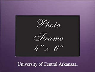 LXG Pitt Blue University of Pittsburgh 4x6 Brushed Metal Picture Frame