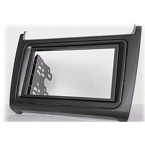 CARAV 11-538 2-DIN auto testa unità mascherina cruscotto kit installazione per VOLKSWAGEN Polo 2014+ (tasca)