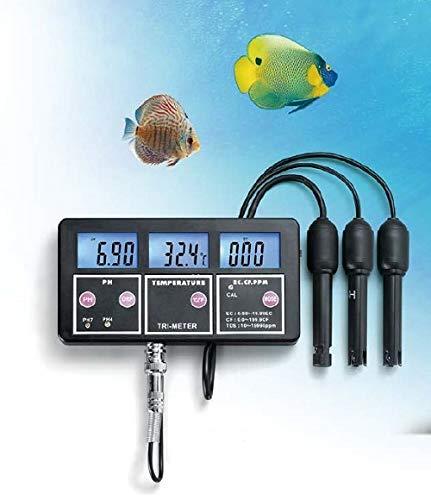 7-in-1 multimeter parameters tester geleidingswaarde waterkwaliteit aquarium zwembad vijver P34