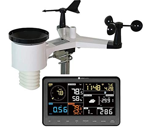 Ambient Weather WS-1900 Osprey Solar Powered Wireless Professional Weather Station