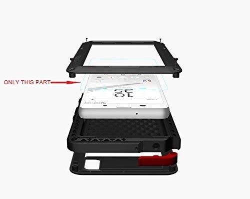 Love Mei Protector de pantalla de cristal templado para Huawei P10 Plus 5,5 pulgada