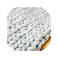 猫の毛布洗える犬ペットの巣毛布猫のベッド綿の巣マットパッド、ライトグレーウール、45cm