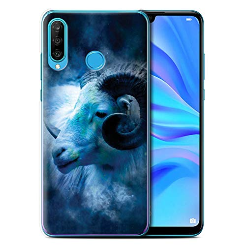 eSwish telefoonhoesje/Cover/Skin/HUAGP-CC/Zodiac Star Sign Collection Huawei P30 Lite 2019 Aries/Ram