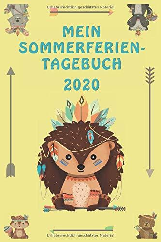 Mein Sommerferien-Tagebuch 2020: Toll gestaltetes Eintragebuch für Kids & Teens. Super Geschenk-Idee zu den Zeugnissen. Einmalige Erinnerungen an diesen Sommer festhalten.