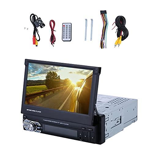 Reproductor MP5 DVD con cámara digital HD TFT de 7 pulgadas para coche