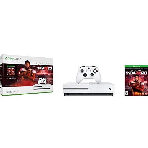 Xbox One S 1TB Console - NBA 2K20 Bundle (Renewed) [video game]